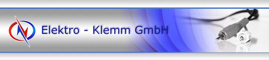 Elektro Klemm - der Fachbetrieb für Elektroinstallationen